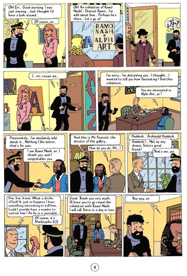 Tintin Tintin And Alph Art Pdf