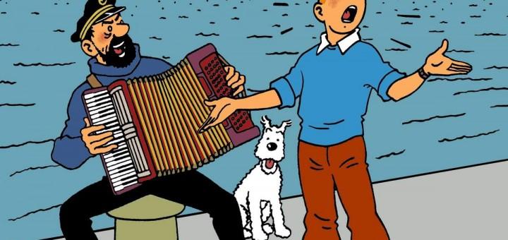 Tintin les albums non officiels tintin guismai - Image de tintin et milou ...